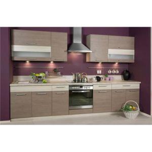 Meublesline cuisine compl te 3m20 elise couleur bois for Cuisine complete bois
