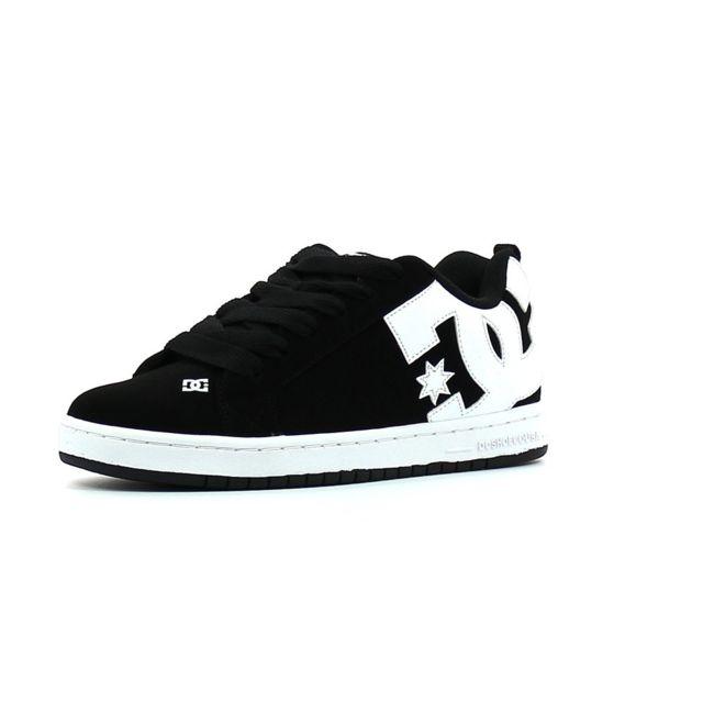 Noir Achat Baskets Basses Shoes Dc Cher Graffik Court Pas QrBtCshdx