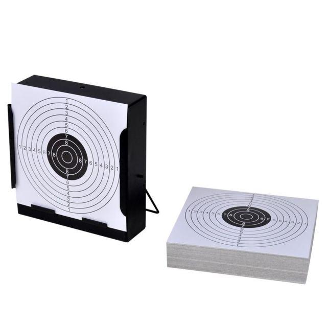 Uco Support de 14 cm carré avec 100 cibles papier