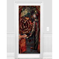 Amscan International - Décoration de porte clown Halloween