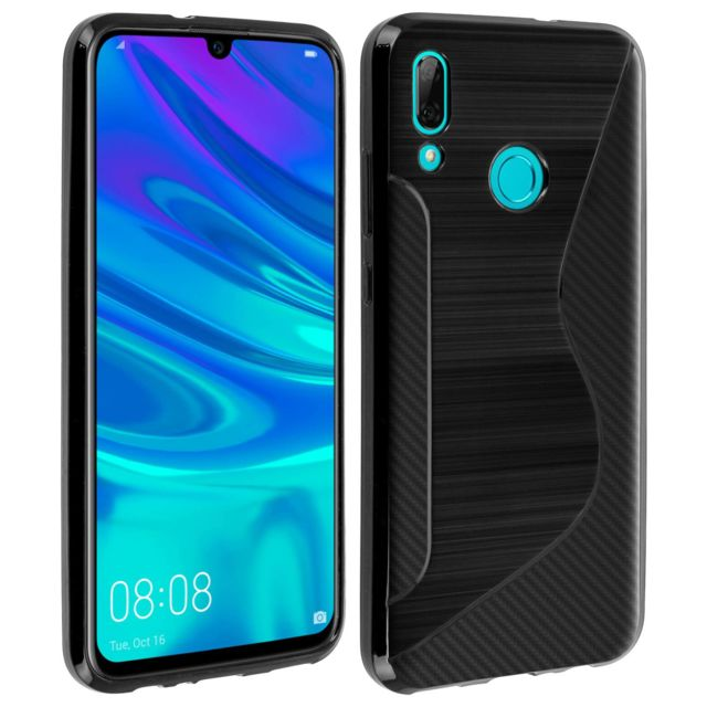 coque huawei p smart 2019 silicone rouge