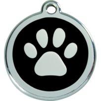 Les Animaux De La Fee - Medaille Chien Red Dingo Patte Noire 38mm