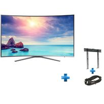TV LED UE-55KU6500 + support mural + cable HDMI SD302768