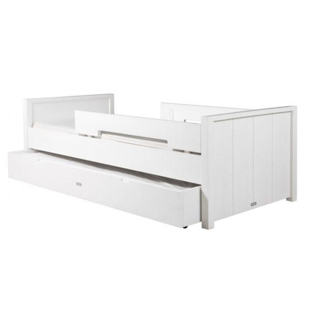 Bopita Lit enfant Basic Wood + tiroir lit