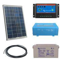Myshop-solaire - Kit solaire 20w autonome + convertisseur 230v