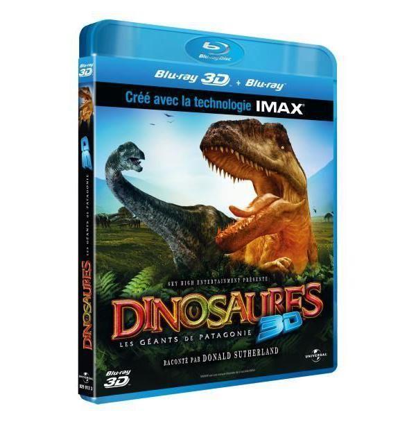 Universal - Dinosaures - Blu-Ray 3D Active