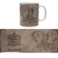 Le Seigneur Des Anneaux - Mug Carte