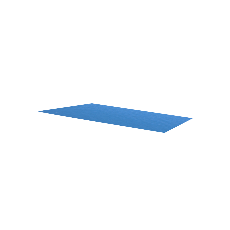 Rocambolesk - Superbe Bâche de piscine bleue rectangulaire en Pe 260 x 160 cm Neuf