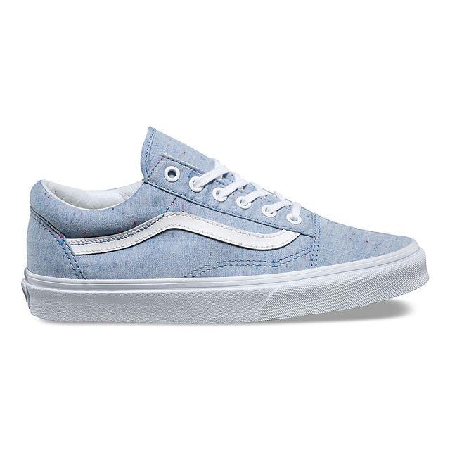 vans old skool bleu marine femme
