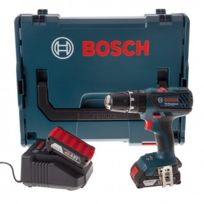 Bosch - Perceuse/Visseuse à percussion PRO GSB 18-2-LI Plus 2x2,0Ah