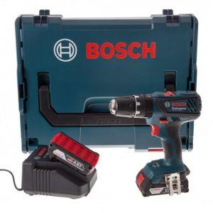 Bosch - Perceuse/Visseuse à percussion PRO GSB 18-2-LI Plus 2x2,0Ah