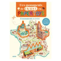 Editions Auzou - Créations en Papertoys : Mes Monuments de France