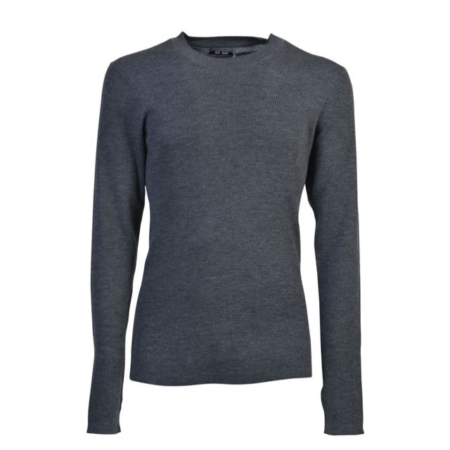 Blk Homme Bdmmk08SWEETER37 Gris Laine Maille