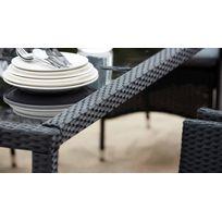 Table jardin resine de synthese - Achat Table jardin resine de ...
