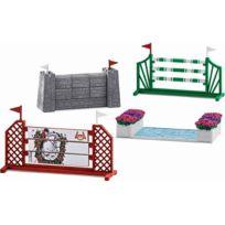 SCHLEICH - Kit de jeu - Parcours de saut d'obstacles - 42271