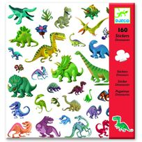 Djeco - Stickers dinosaures