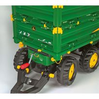 73b0f869ffec42 Rolly Toys - 125043 RollyMulti Trailer John Deere - Remorque pour tracteurs  à pédales. Plus que 9 articles