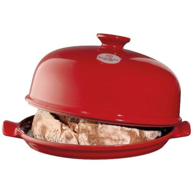 EMILE HENRY moule à pain céramique rouge grand cru - eh349108