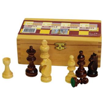 Abbey Game - Pièce jeu d'échec noir/blanc