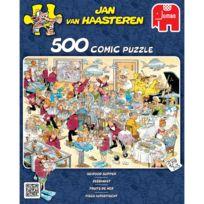 Jumbo - Puzzle 500 pièces : Jan Van Haasteren : Fruits de mer