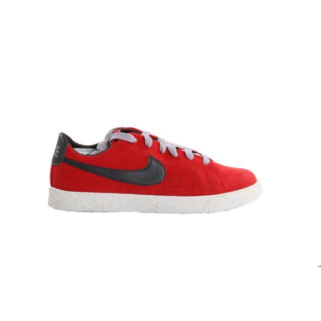size 40 8ca2c 3420d Nike - Basket Blazer Low PS, Rouge 555194-600-31.5 - 13.5C - pas cher Achat  / Vente Baskets enfant - RueDuCommerce