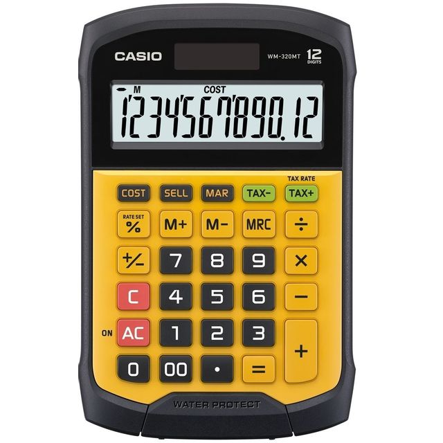 CASIO Calculatrice de poche WM-320MT
