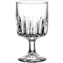 Libbey - Verre à vin à pied à facette 31cl - Lot de 6 - Winchester
