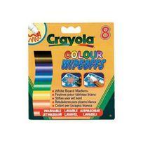 Crayola - 8 Feutres effaçables pour tableau blanc