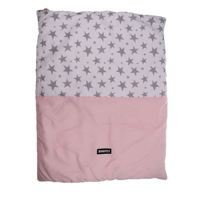 Lavable chien chiot chat cage cage coussin lit coussin mat nid rose m