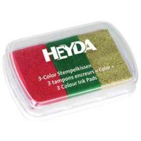 Heyda - Coffrets De Tampons Encreur Rouge/VERT FoncÉ/OR 204888467