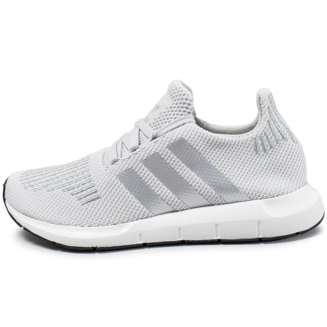 Adidas originals - Swift Run W Grise Et Argent - pas cher Achat ... 75fe61d50d54