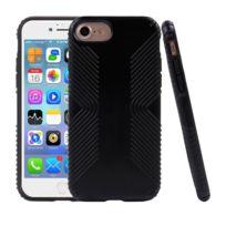 Wewoo - Coque noir pour iPhone7 anti-collision unisexe et antichoc étui de protection arrière