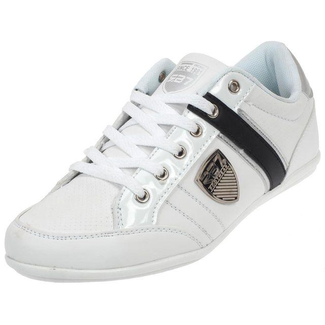 Rb7 - Chaussures basses cuir ou synthétique 008 white shoes Blanc 58740 -  pas cher Achat   Vente Baskets homme - RueDuCommerce 111e1c6bbad6