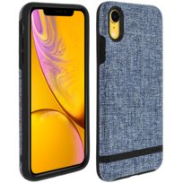 Incipio - Carnaby Coque iPhone Xr Bumper Ultra-fin Protection Antichoc - Bleu