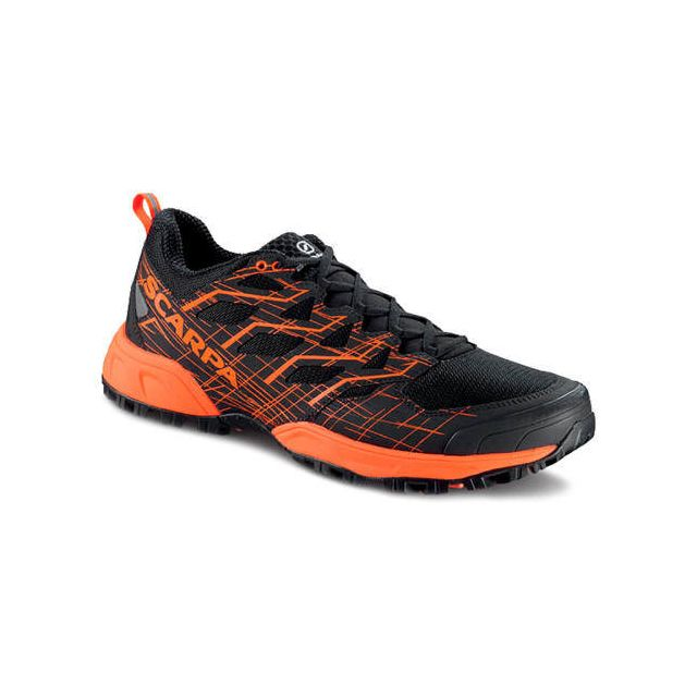Scarpa Chaussures Neutron 2 Black-Orange Fluo