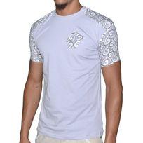 Stef Wear - T Shirt Manches Courtes - Homme - 804 Bandana - Gris