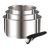 Tefal - Casserole 16/18/20 Ingenio Menage Inox L 9419502