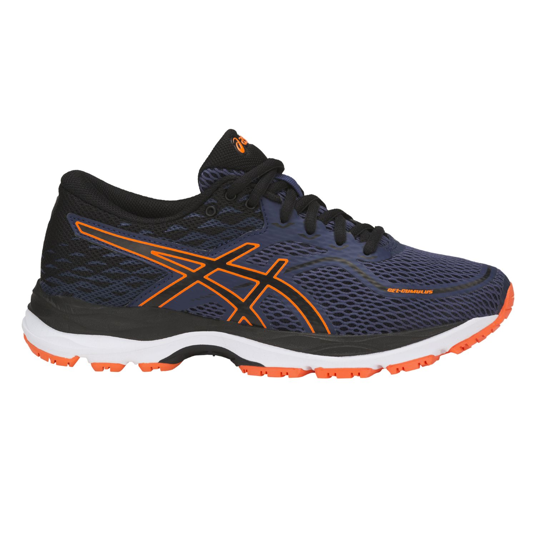 Asics - Chaussures junior Gel-Cumulus 19 Gs bleu indigo/noir/orange flash - 34 1/2 - pas cher Achat / Vente Chaussures running