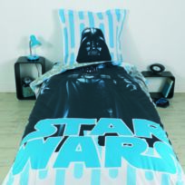 housse couette star wars achat housse couette star wars pas cher rue du commerce. Black Bedroom Furniture Sets. Home Design Ideas