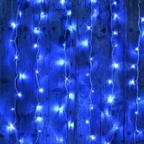Blachère illumination - Rideau flicker 2mx2m Bleu connectable