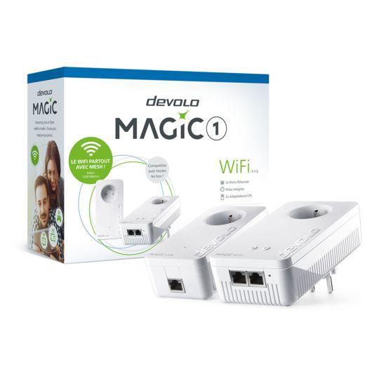 Kit de démarrage devolo Magic 1 WiFi - 8360 - Blanc