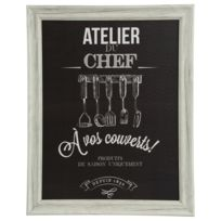 Atmosphera - Cadre Chef - 40 x 50 cm - Couverts