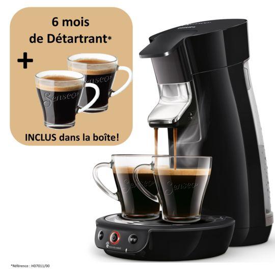 Machine à café à dosettes Viva Café - HD6563/63 - Noir pas cher au ...