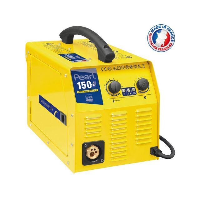 Gys - Poste de soudure Mig-mag inverter portable 230V 20-150A - Pearl 150.2  - pas cher Achat   Vente Postes à souder à l arc - RueDuCommerce 521405ffeab8