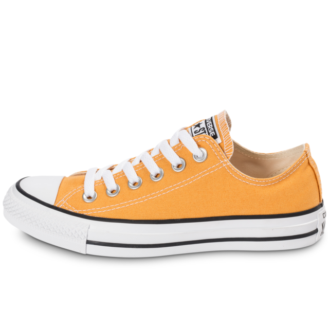 Converse - Chuck Taylor All-star Canvas Ox Solar Orange ...