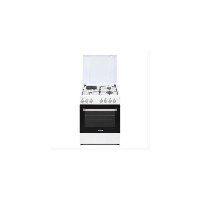 Rosières Cuisinière Prodige 60cm Mixte Four Mf Catalyse Blanc Rosieres - Rme660cmw/e