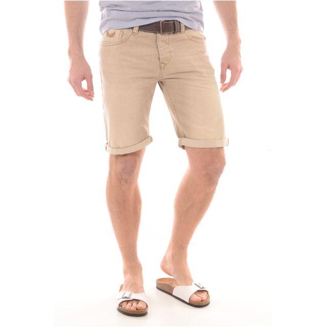 Kaporal 5 Shorts Bermudas Kaporal Homme Jag Les Beiges
