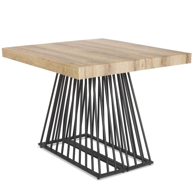 MENZZO Table extensible Factory Bois Sonoma