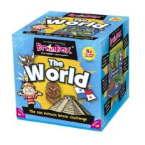 Green Board Games - Brainbox: The World
