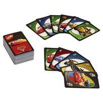 Mattel Jeux - Cars - Uno Cars 3